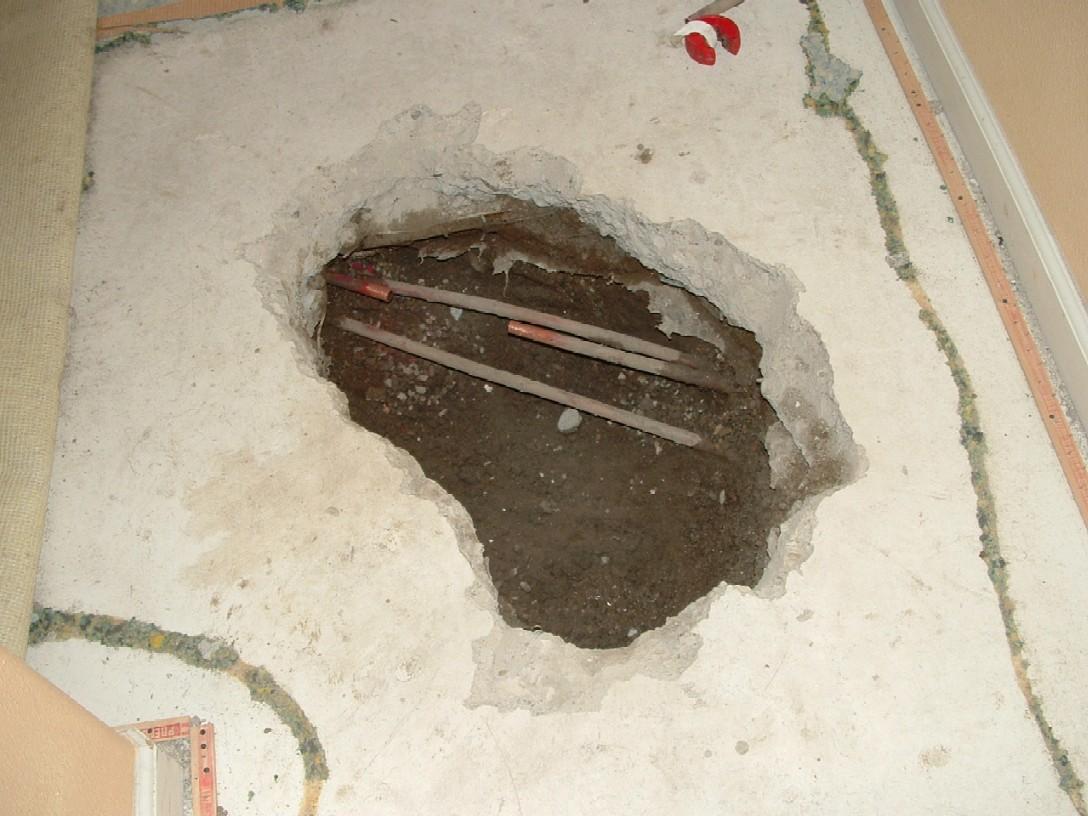 Slab Leak Repair