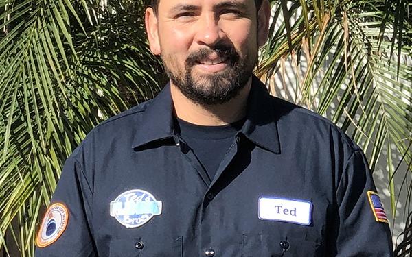 Plumber Ted Bustos in Fullerton