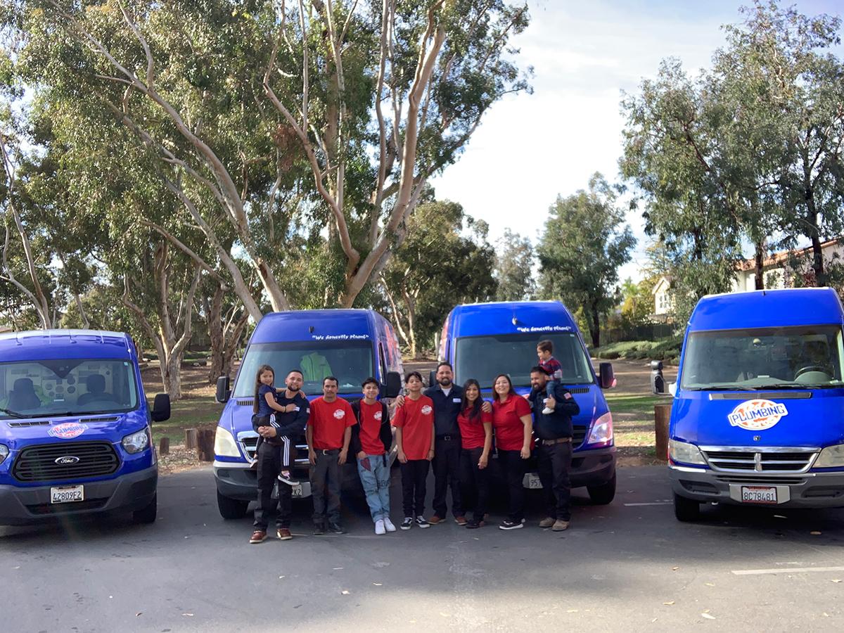 Family Plumbers in Orange County, CA