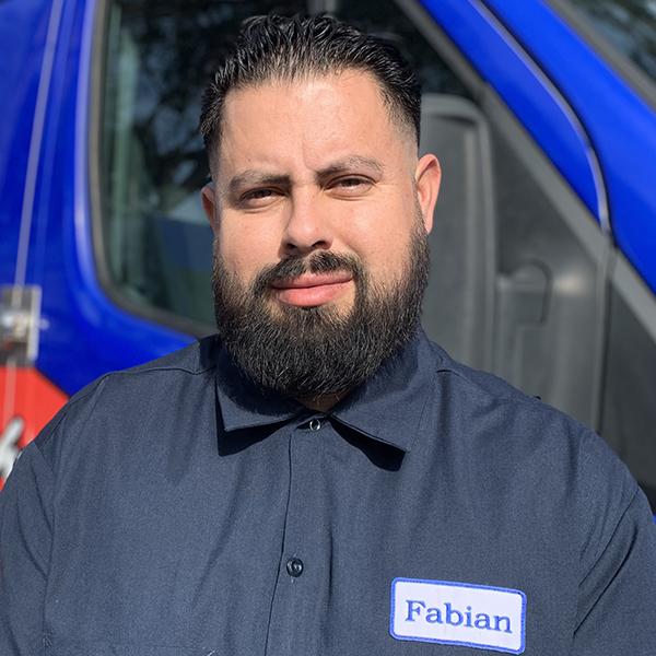 Plumber Fabian Lopez of Yorba Linda, CA